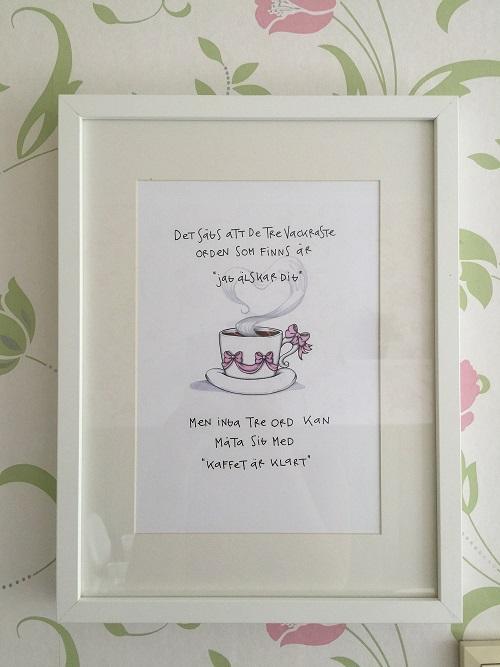 Illustration: Kaffet är klart