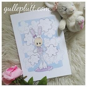 Doptavla: Kaninen med Hjärthänder