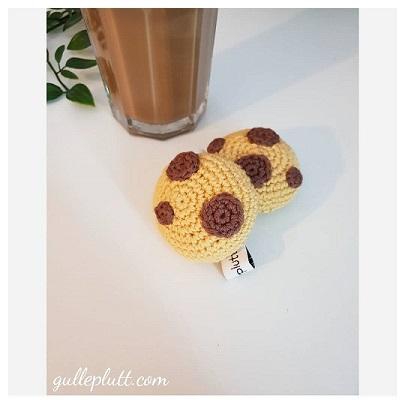 Virkade chocolate chip cookies