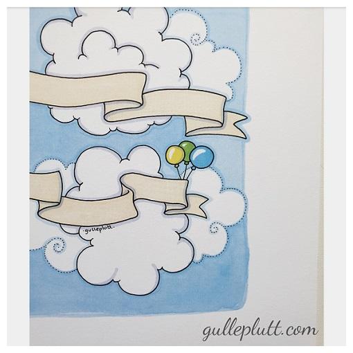 Doptavla: Blå Flygplanet