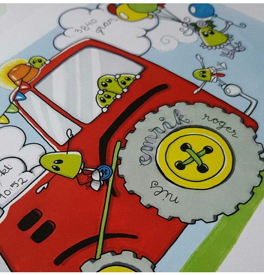 Doptavla: Traktorn, Röda Faran