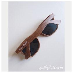 Solglasögon trä-look