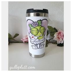 Termosmugg: Kaffeälskande Gullepruttan