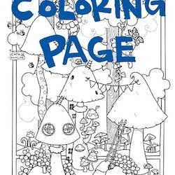 Utskrift för färgläggning, Gullepruttarna
