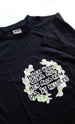 T-shirt, Helvete Blomkrans