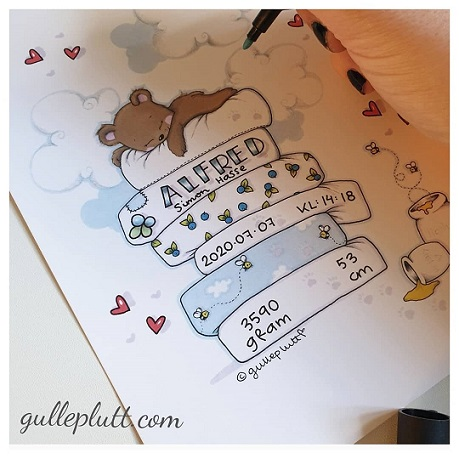 Doptavla: Björnen Sover