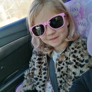 Solglasögon barn, Rosa