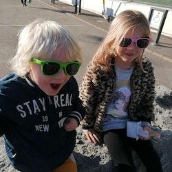 Solglasögon, barn, gröna