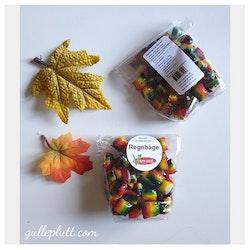 Hårda karameller, Regnbåge, Veganskt godis