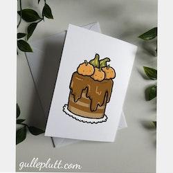 Grattiskort, Höst-tårta