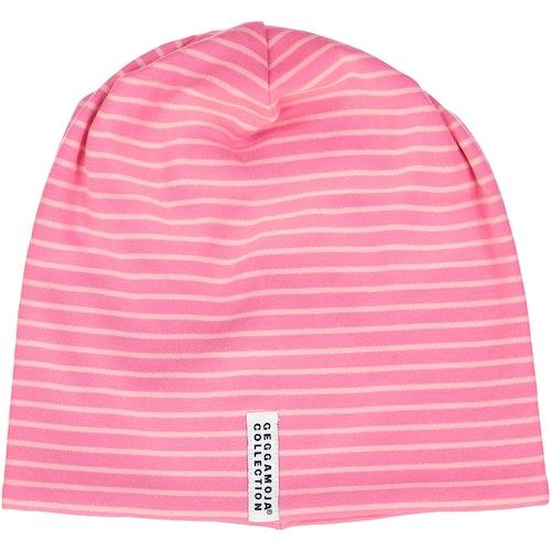Geggamoja mössa pink/pink