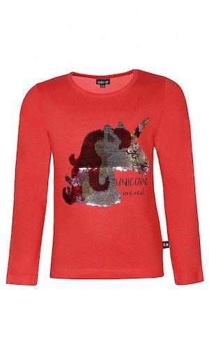 Kidsup lacey tröja röd