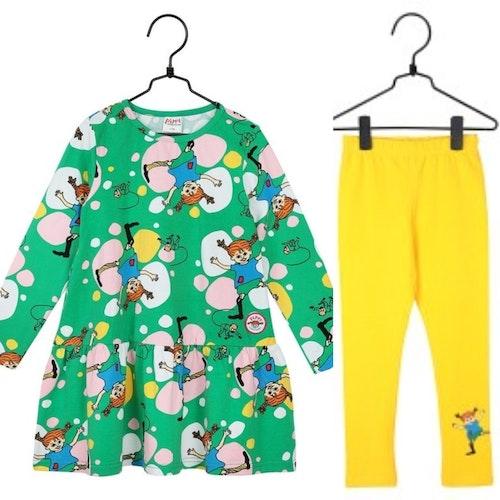 Pippi Långstrump tunika + leggings
