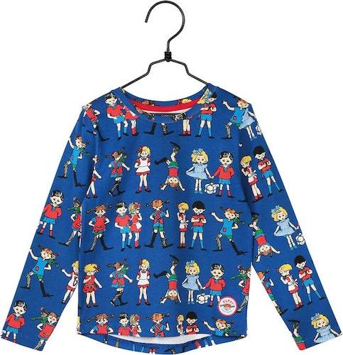 Pippi Långstrump med vänner tröja