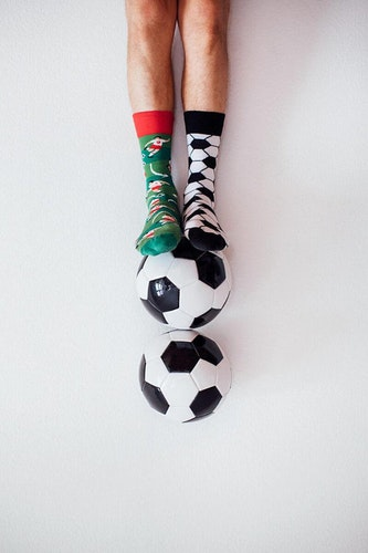 Football fan kids