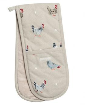 Sophie Allport Hen Oven Gloves
