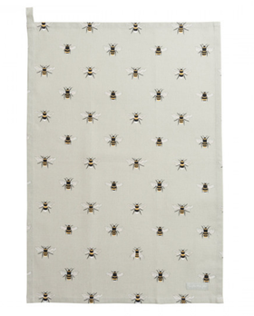 Bees tea towel / Bin kökshandduk