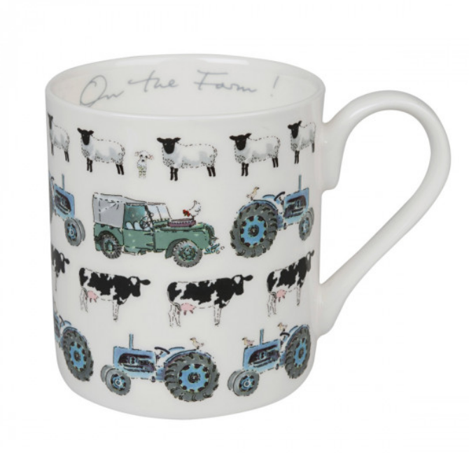 "Sophie Allport mugg "" On the Farm"""