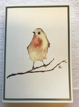 Farmhouse Life Robin Card
