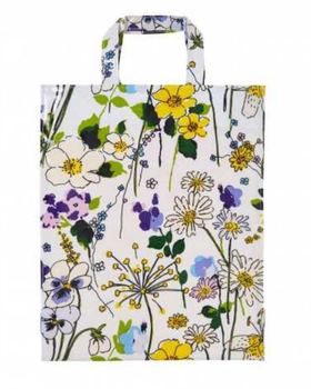 PVC shopper bag Wildflowers / PVC väska Wildflowers