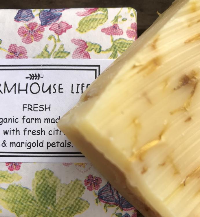 """Farmhouse Life Ekologiska tvål """"Fresh"""""""