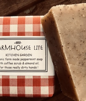 Farmhouse Life  Kitchen Garden organic soap