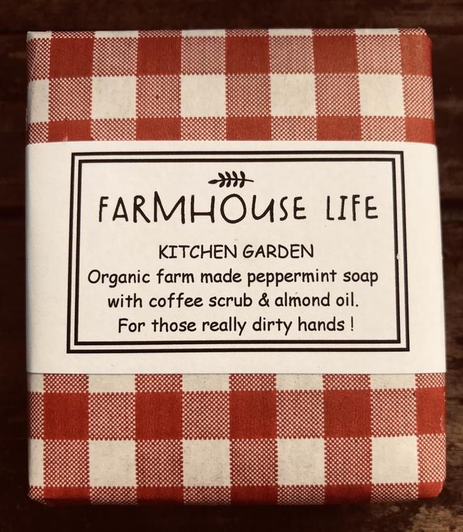 """Farmhouse Life Ekologiska tvål """"Kitchen Garden"""""""