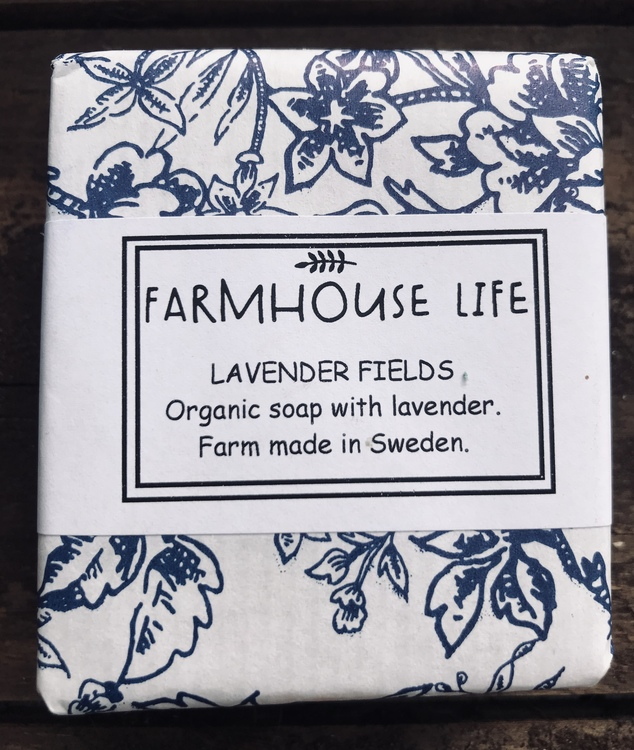 "Farmhouse Life Ekologiska tvål ""Lavender fields"""