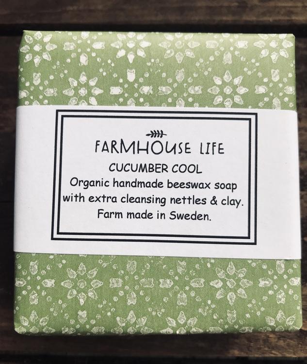 Ekologisk naturtvål - Cucumber Cool