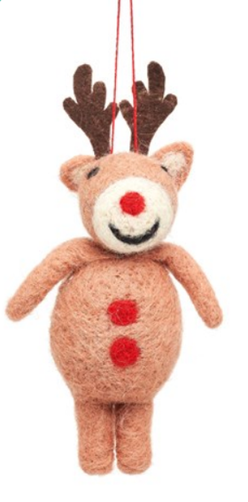 Rudolph Christmas tree decoration / Rudolph Julgrans pynt