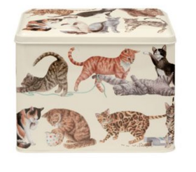 Emma Bridgewater Cats Storage tin