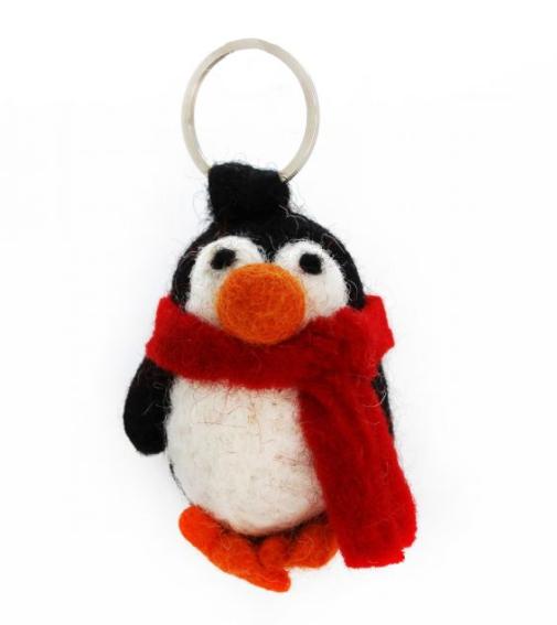"Felt so Good Nykelring "" Penguin """