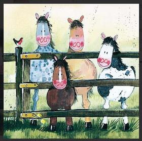 """Alex Clark Kort """" Ponies """""""