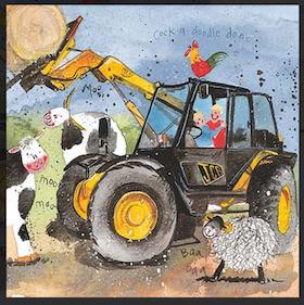 """Alex Clark Kort """" Farm Fun """""""