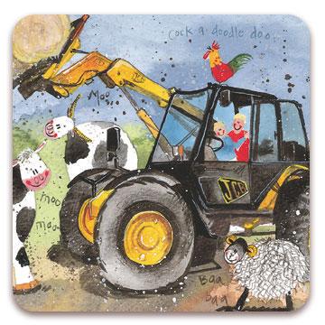 "Alex Clark Kylskåpsmagnet "" Farm Fun"""