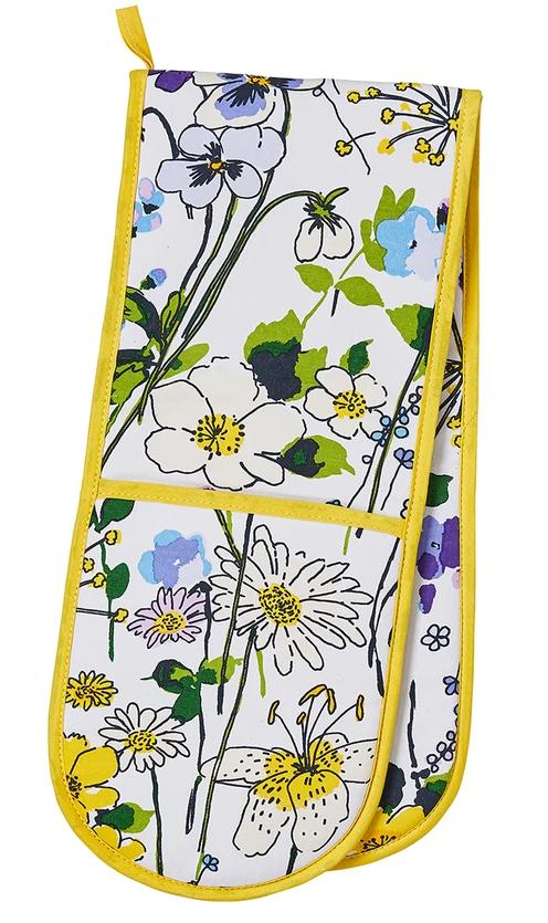 """Ulster Weavers Dubbla Grytlappar """" Wildflower """""""