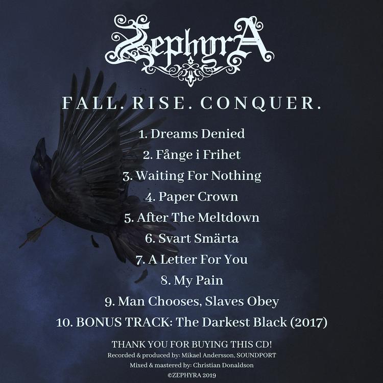 'FALL. RISE. CONQUER.' (CD)