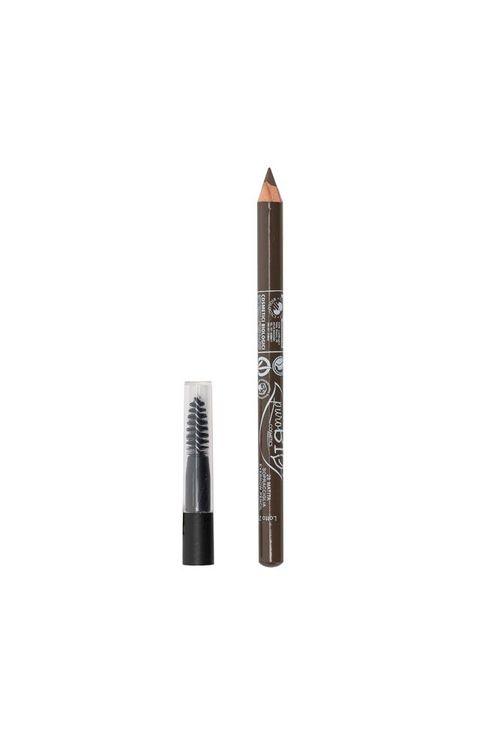 puroBIO Eyebrow pencil 28 mörkbrun