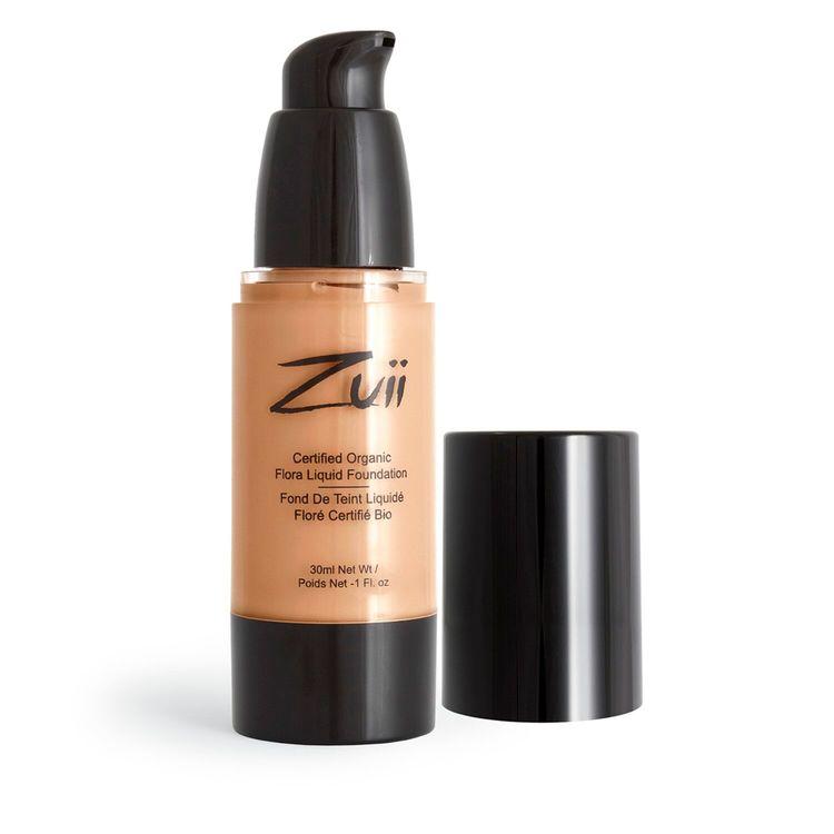 Zuii Organic Flytande Foundation 30ml Natural Bisque