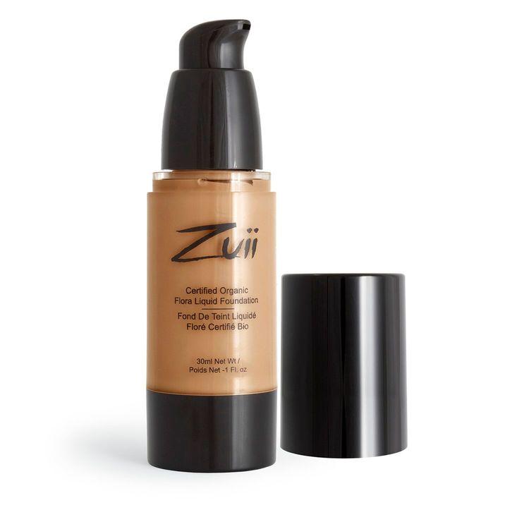 Zuii Organic Flytande Foundation 30ml Natural Ivory