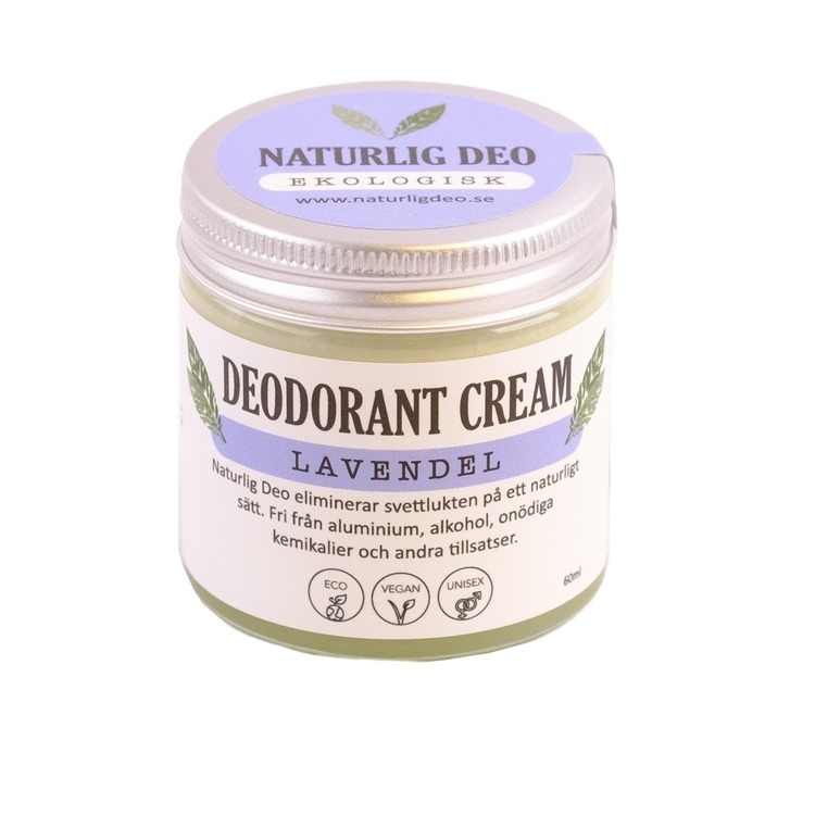 Naturlig Deo - Ekologisk deodorant cream Lavendel