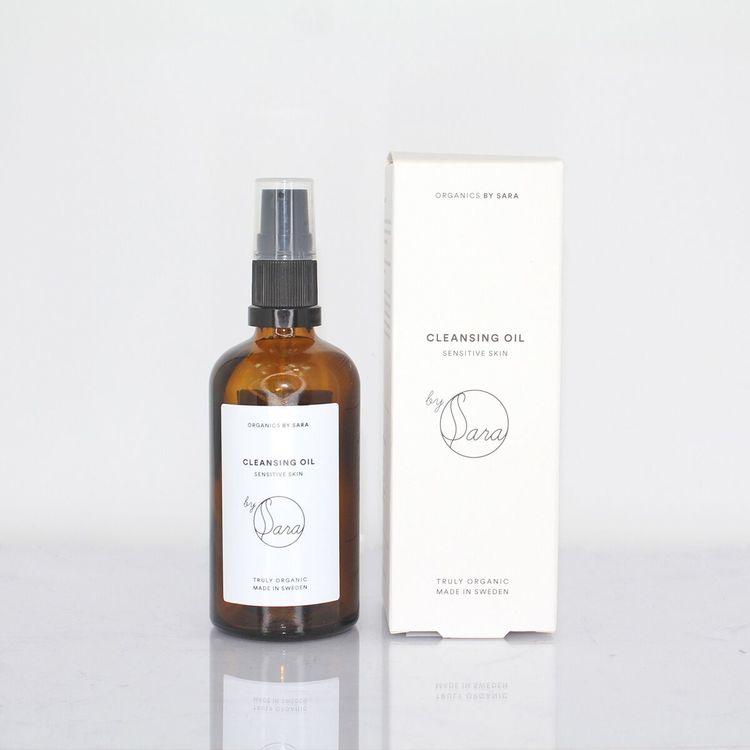 Organics by Sara - Cleansing Oil 100ml Sensitive med kartong