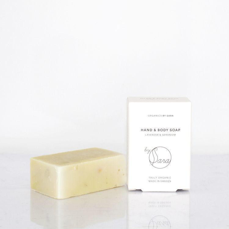 Organics by Sara - Hand & Body Soap 110g (flera varianter)