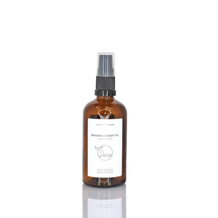Organics by Sara - Massage & Body Oil 100ml Sensitive Skin