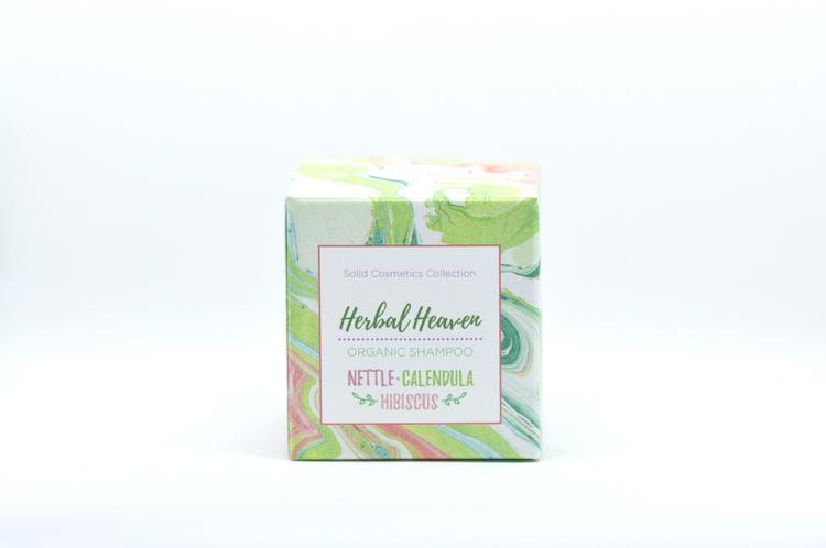 Grön Lycka - Schampokaka 85g - Herbal Heaven