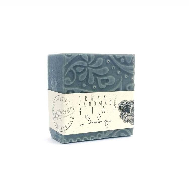 KaliFlower Organics - Tvål 120g - Indigo Green tea