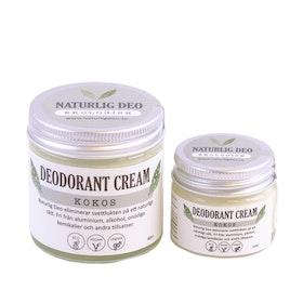 Naturlig Deo - Ekologisk deodorant cream Kokos