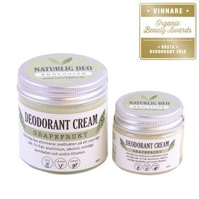 Naturlig Deo - Ekologisk deodorant cream Grapefrukt