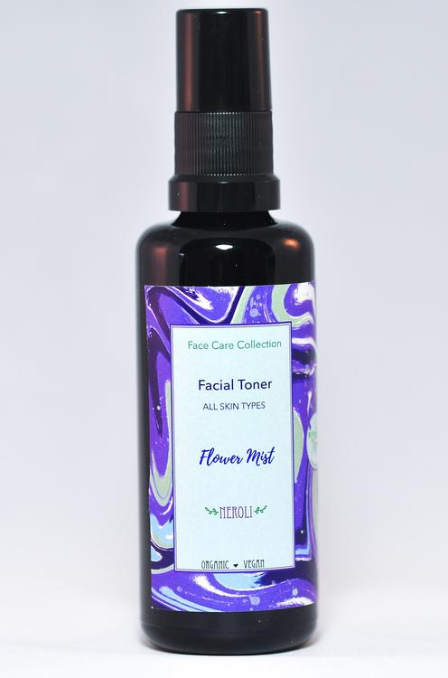 Grön Lycka - Flower Mist Facial Toner Neroli 50 ml