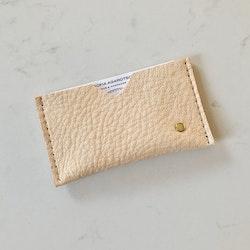 Card Holder Natur - Korthållare i naturgarvat läder